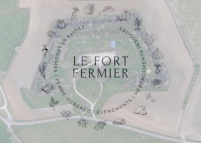 Maraîchage bio et ferme-auberge au Fort Fermier
